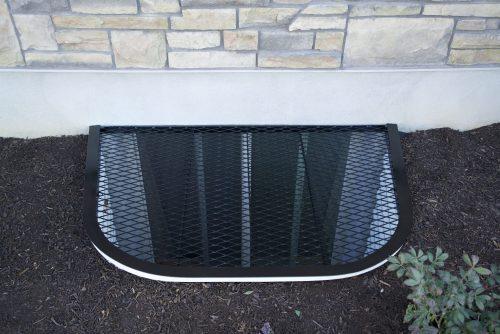 Custom Steel Window Well Covers In Utah Wasatch Covers