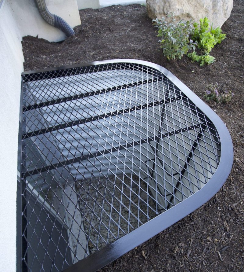 Custom Steel Window Well Cover Wasatch Covers Utah