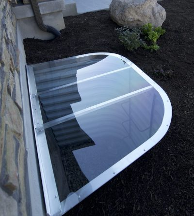 Custom Polycarbonate Window Well Covers In Utah Wasatch